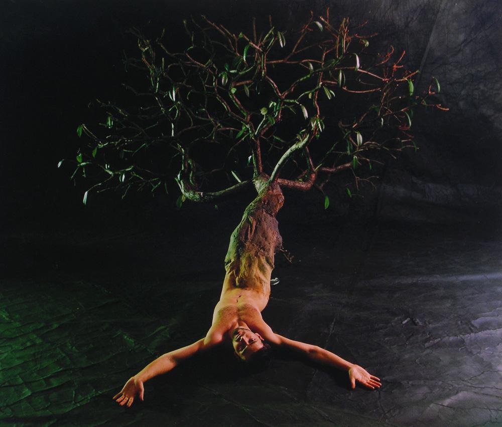 Tibor Gyenis: From the series Hommage á Ana Mendieta, 1999. Courtesy of the Artist.
