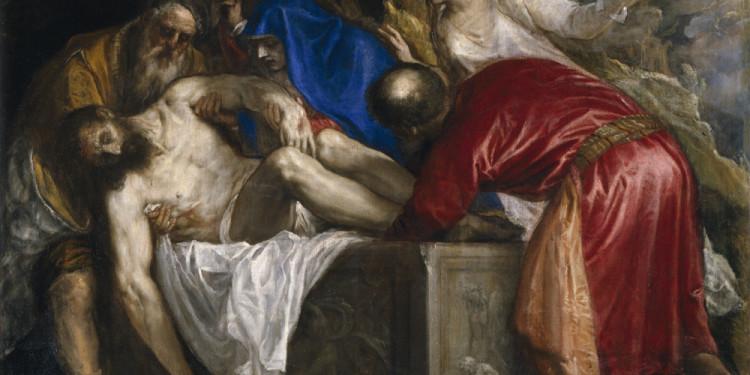Tiziano Vecellio Deposizione di Cristo nel sepolcro, 1559 Olio su tela Madrid, Museo Nacional del Prado © Madrid, Museo Nacional del Prado