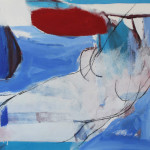 Le premier matin du monde, 2012 olio su tela cm 85 x100, Liliana Malta