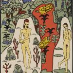"Oskar Kokoschka: The girl Li and myself, from ""The dreaming boys"", 1906/1908. LENTOS Kunstmuseum Linz"