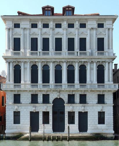 Facciata di Ca' Corner della Regina Venezia, 2011 Foto: Agostino Osio Courtesy: Fondazione Prada