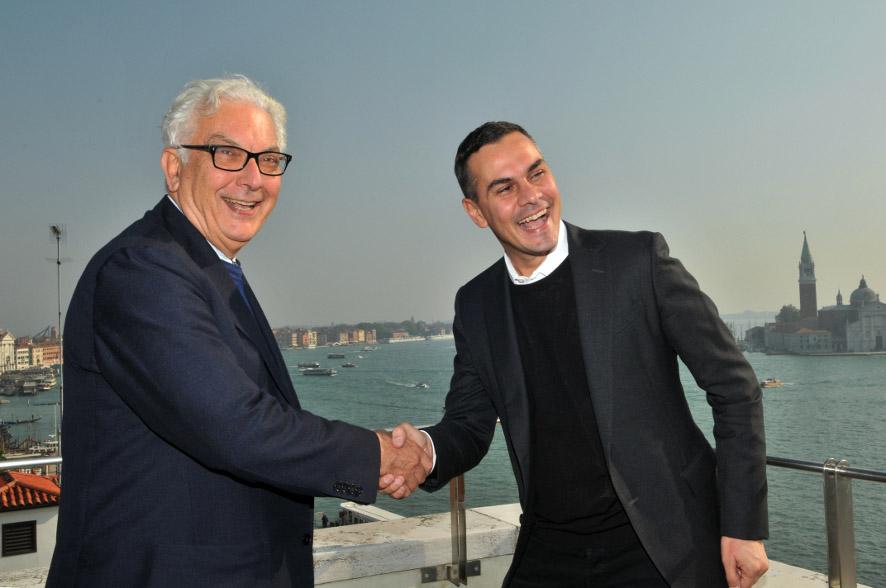 Paolo Baratta e Massimiliano Gioni - la Biennale di Venezia