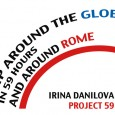 TRIP AROUND THE GLOBE IN 59 HOURS AND AROUND LONDON IRINA DANILOVA – USA PROJECT 59 presentation, artist talk June 3, 19:00 studio.ra contemporary art Via Bartolomeo Platina 1F –...