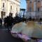 Monumento al panino, Piazza del Campidoglio, Roma 6 gennaio ore 12