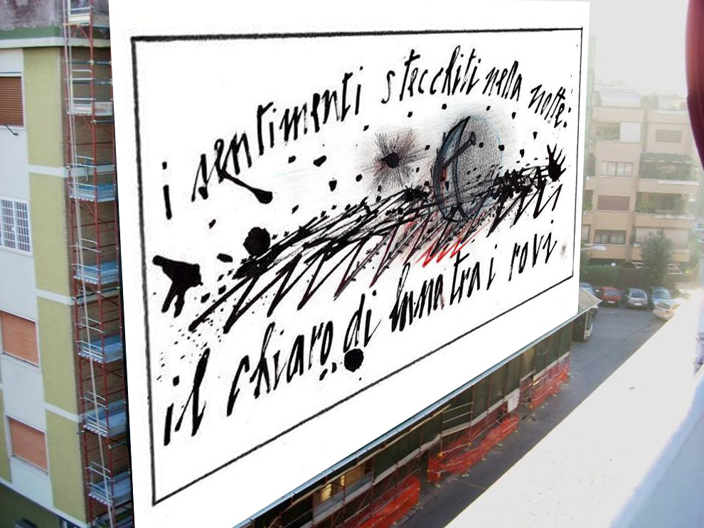 Scrittura notturna di Gianfranco Pavanello