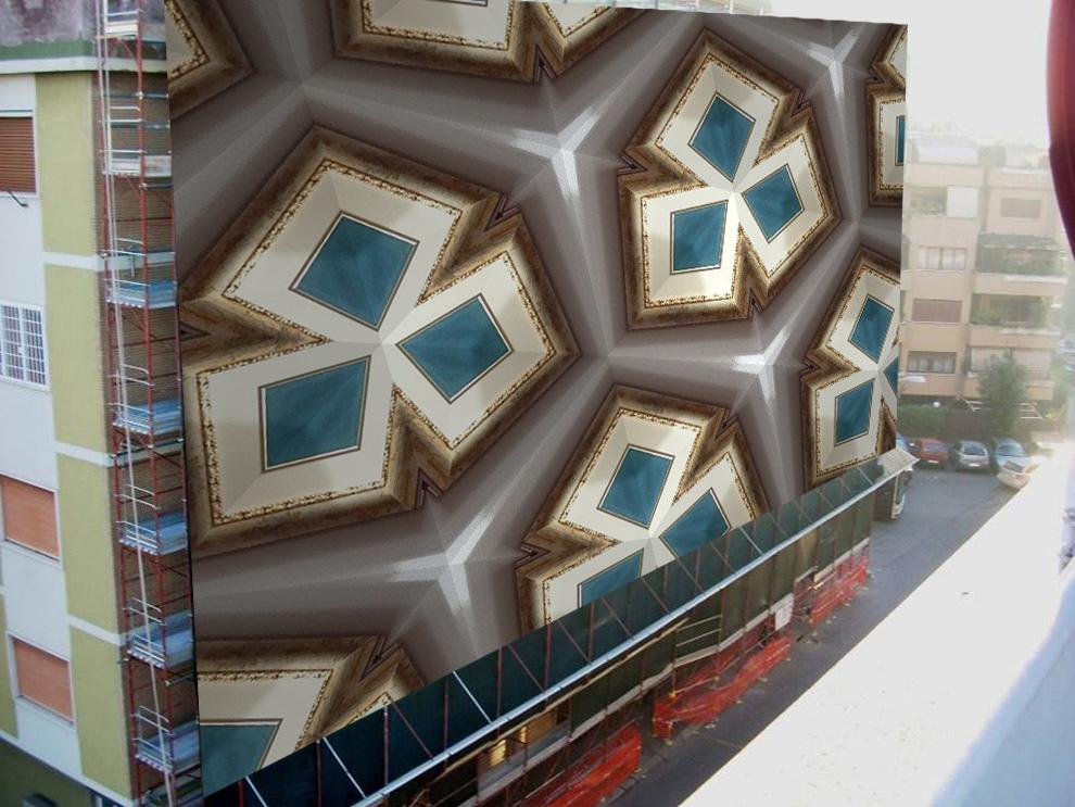 astratto geometrico, omaggio a Cavellini di Roberto Scala