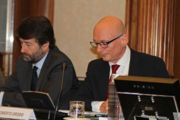Dario Franceschini, Ministro dei Beni e delle Attività Culturali e del Turismo-Roberto Grossi, Presidente Federculture