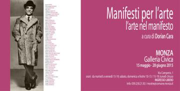 Invito Mostra Manifesti Monza - Dorian Cara_media