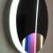 Segnale immaginario elettrico, 1970, plexiglass e luce al neon, diametro 60 cm (200 esemplari)
