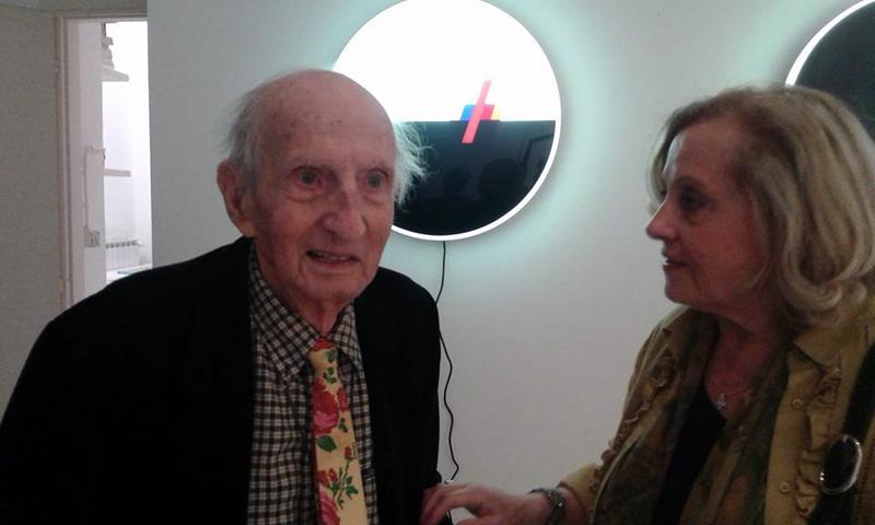 Eugenio Carmi, alla mostra L'armonia della sperimentazione, Galleria Antonio Battaglia