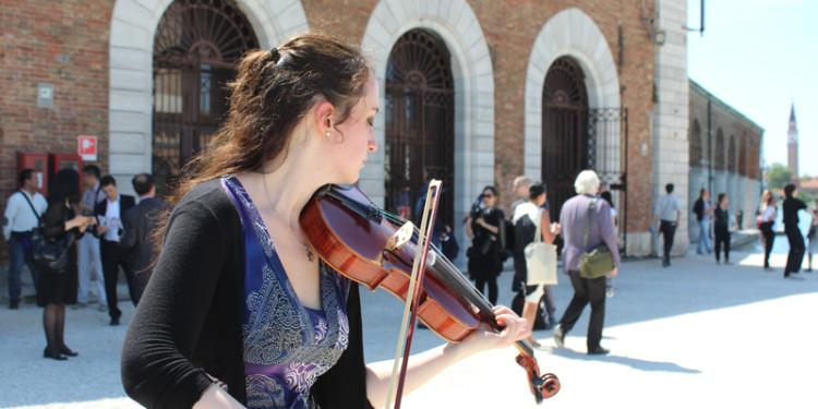 violinista - Chima pavilion