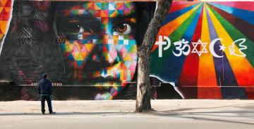 1. Eduardo Kobra, Peace