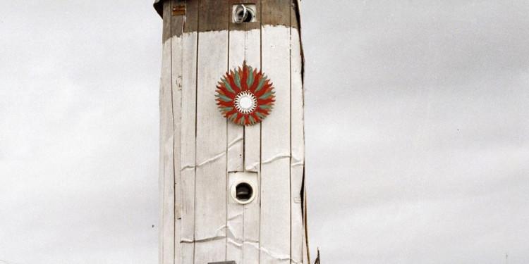 2. Big Rocket, il razzo di Space Metropoliz. © Giorgio Benni