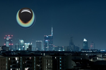 Milano Skyline - january 5 2013