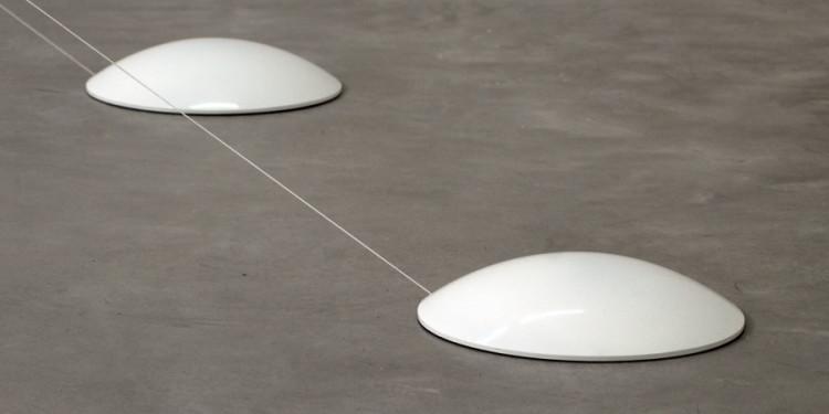 Maurizio Mochetti, Calotte (Oggetto Polimerico), 1966 Fiberglass, elastic