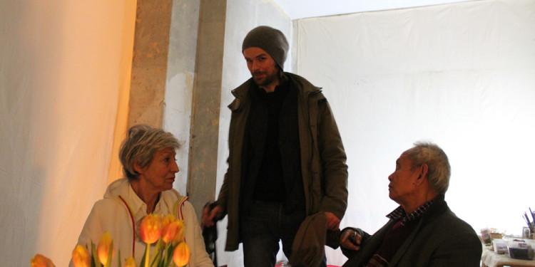 Vittoria Biasi, Paul Darius, David Medalla / Another vacant space