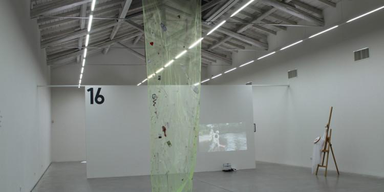 David Medalla, A Stitch In Time (1968-2015) velo verde