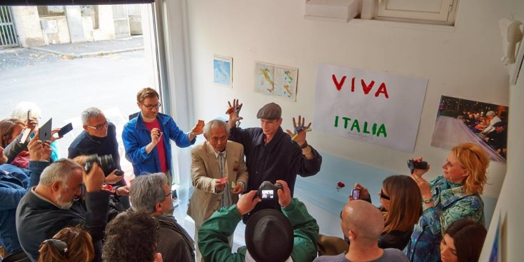 performance Stitch in Time-Viva Italia, Studio.ra, Roma-ph. Faber
