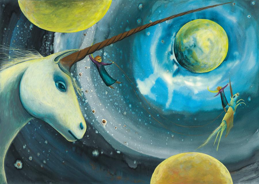 L'unicorno dal corno d'oro - Edizioni ARKA