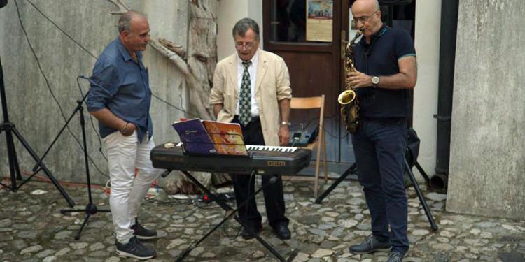 Giovanni Ciaramella, Mattia Martullo, Ermanno Romeo - foto di Gabriella Ciaramella