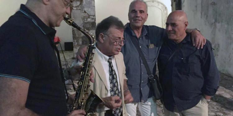 Giovanni Ciaramella, Mattia Martullo, Ermanno Romeo e Rino Telaro - foto di Gaia Ciaramella