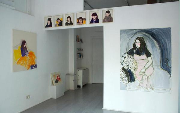 Roberta Kravitz, Studio.ra (Roma) - veduta interna mostra