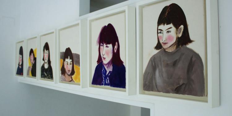 """Small portraits"" , Roberta Kravitz, Studio.ra (Roma)"