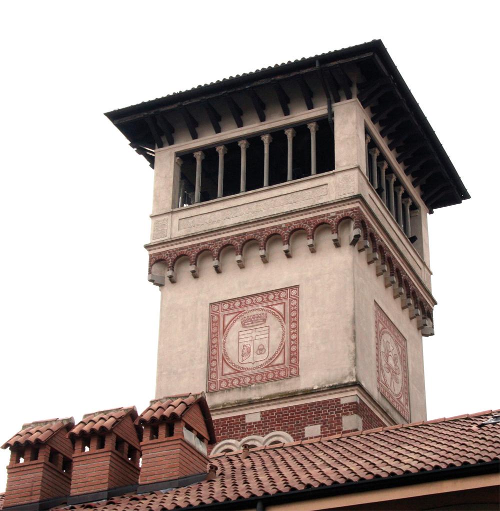 Torre Schiaparelli, Origgio