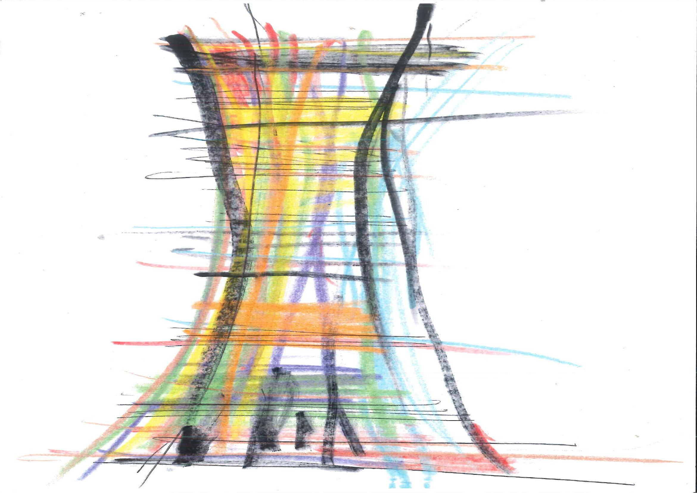 Torre Arcobaleno, sketches project