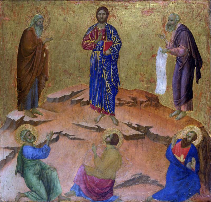 Duccio-di-Buoninsegna-Trasfigurazione