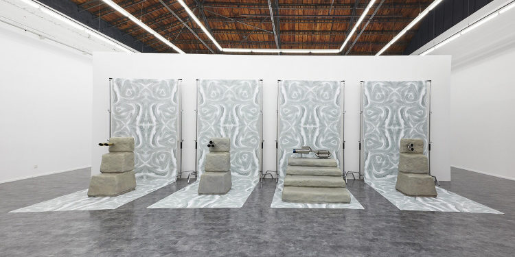 Guan Xiao,4S Prequel, 2015, Installation, 900x 286x 300 cm