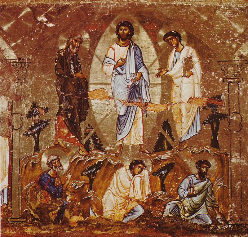 Transfiguration_of_Christ_Icon_Monastery, Sinai (Egypt)-XII sec