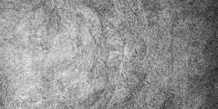 1 Pelagouno, 1995 Matita e inchiostro nero su carta, 35 x 35 Cm