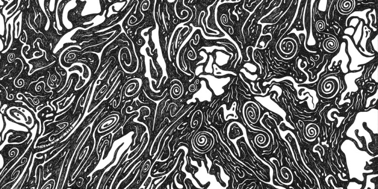 22 Pelagoventidue, 1997 Matita e inchiostro nero su carta, 35 x 35 Cm