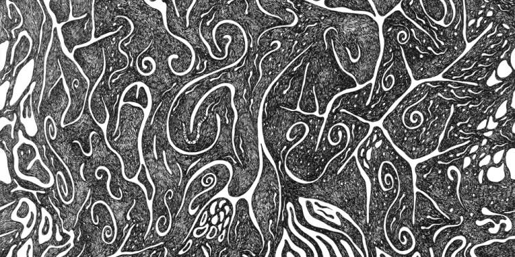 29 Pelagoventinove, 1997 Matita e inchiostro nero su carta, 35 x 35 Cm