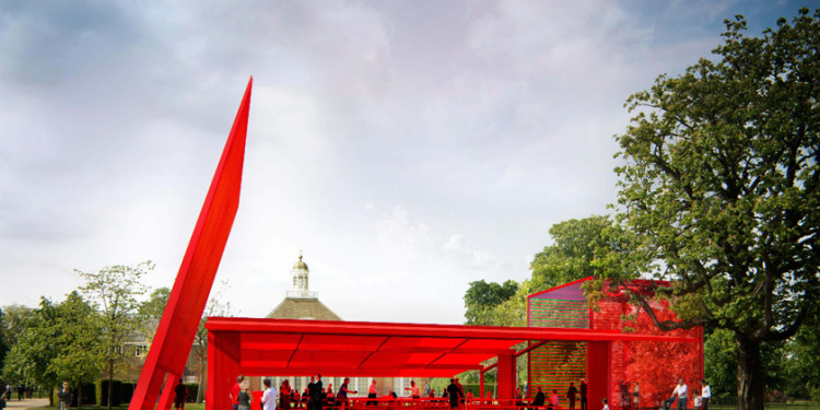 Summer pavilion Serpentine Gallery London 2010