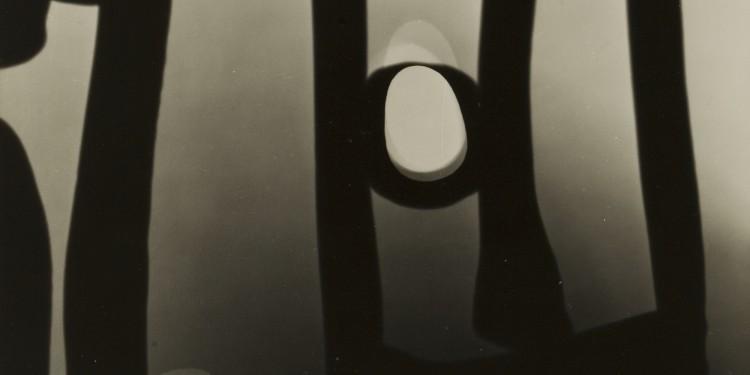 Kepes György: Fénykapu, 1948, ezüstnyomat / György Kepes: Gate, silver print, 1948