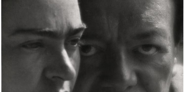 Martin Munkácsi: Frida Kahlo és Diego Rivera. Mexikó, 1933. A Martin Munkácsi Hagyaték tulajdona. / Martin Munkácsi: Frida Kahlo and Diego Rivera. Mexico, 1933. Courtesy: The Estate of Martin Munkacsi