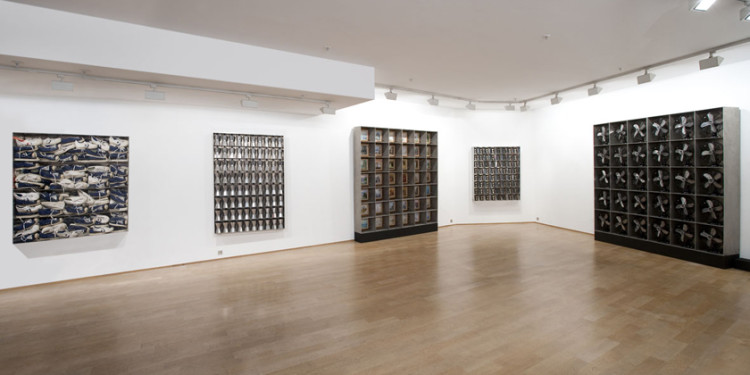 ARMAN, vue-expo, Courtesy Galerie Daniel Templon, Paris