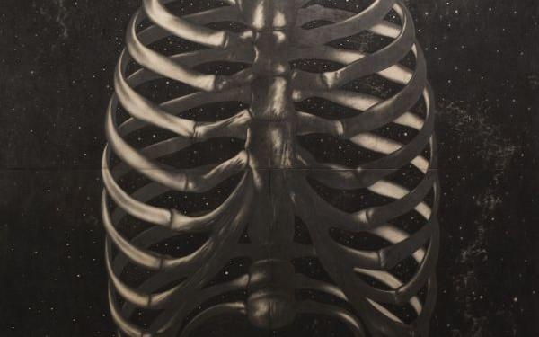 Respiro, 2007 - matita su tavola cm 400x400_1