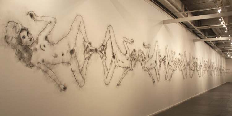 THE DRAWING IS ON STAGE (IL DISEGNO E' DI SCENA), FOYER TEATRO INDIA - ROME