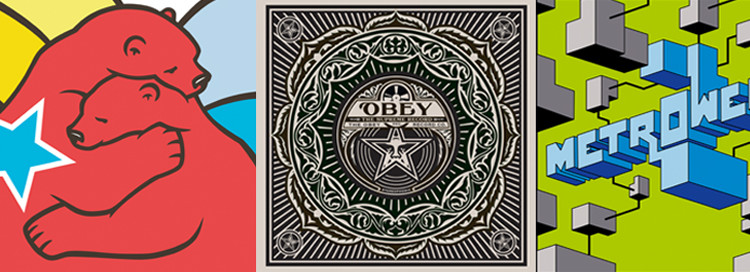 Flying Fortress, Shepard Fairey/Obey, Rendo
