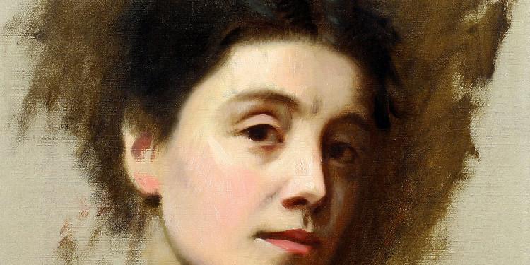 Edoardo Gordigiani, Ritratto di Eleonora Duse, 1890 circa Venezia, Fondazione Giorgio Cini