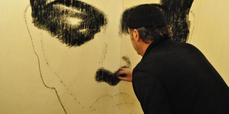 Omar Galliani, le Pareti del Di-Segno, LU.C.C.A. Museum
