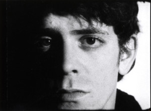 Andy Warhol. Screen Test: Lou Reed (1966). 16mm film (black and white, silent). 4 min. at 16fps @ 2010 The Andy Warhol Museum, Pittsburgh, PA, a museum of Carnegie Institute. All rights reserved. Film still courtesy of The Andy Warhol Museum.