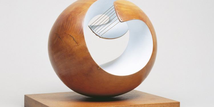 Dame Barbara Hepworth Pelagos, 1946 Part painted wood and strings 43 x 46 x 38.5 cm London, Tate National Photo copyright Tate, London 2010 Copyright Bowness, Hepworth Estate