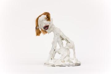 Meese Repro Sculpture - Courtesy Jonathan Meese et Galerie Daniel Templon, Paris/ Photo Jan Bauer