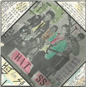 Cover of the split-single HitlerSS / Tampax, 1978-1979, hand coloured, private collection, Pordenone.
