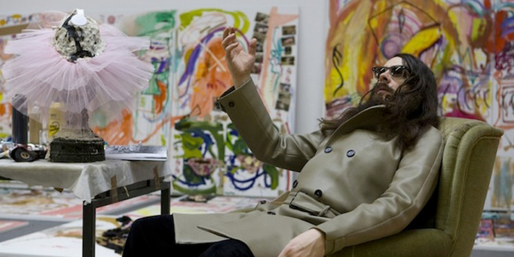 JONATHAN MEESE, GALERIE DANIEL TEMPLON | PARIS - J. Meese in his Berlin studio, dec 010. Photo Jan Bauer.Net /Courtesy J. Meese.