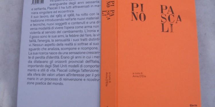 copertina libro Pino Pascali a cura di Anna D'Elia, Edizioni 2010 by Mondadori Electa